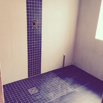 A Mosaicporcelain Tile Wet Room Marchbank Bathrooms
