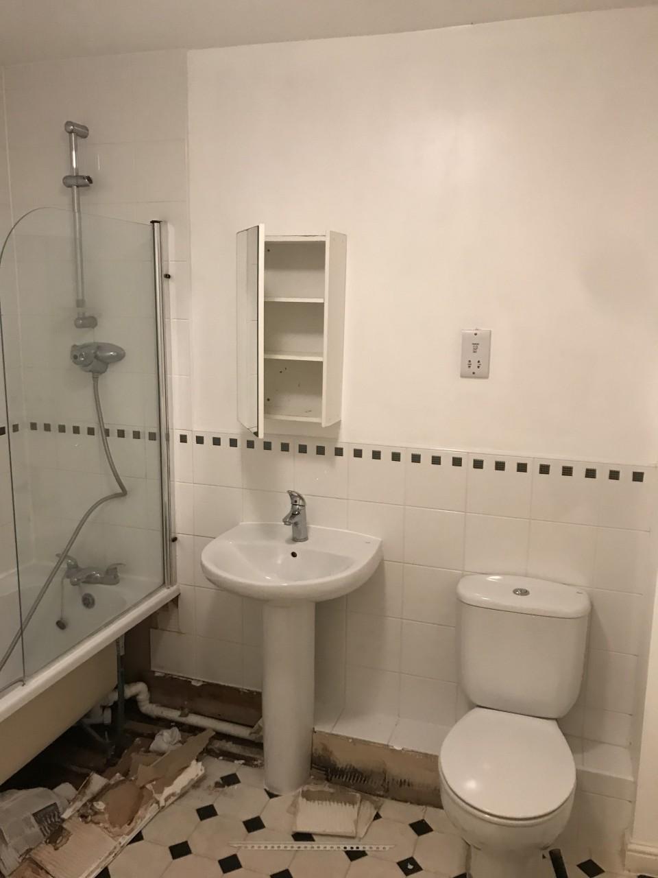 From light to dark. A delightful bathroom transformation - Marchbank ...